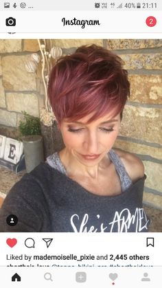 I love this hair color!  Not sure if I can pull it off, though!