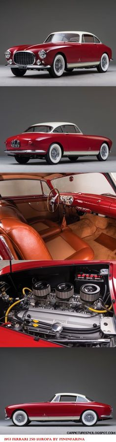 Car Pictures: 1953 Ferrari 250 Europa by PininFarina
