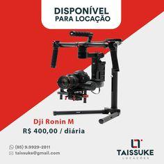 DJI Ronin M Estabilizador De Camera Até 3.6 Kg  Valores das diárias 1 diária R$ 400,00 2 diárias R$ 600,00 3 diárias R$ 800,00 Consultar preços para outros períodos  Aceitamos todos os cartões. Contato 85.999292811  #roninm #taissukelocacoes #taissuke #canon #nikon #Fortaleza #ceara #brasil #osmo #djiosmo