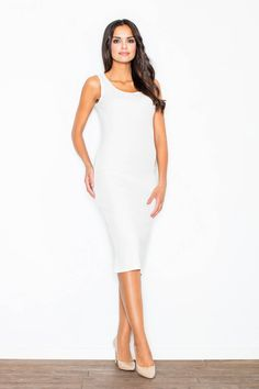Open a boutique to sell your own designs. Day Dresses, Evening Dresses, Dresses For Work, Midi Dresses, Simple Elegant Dresses, Opening A Boutique, Models, White Outfits, White Dress