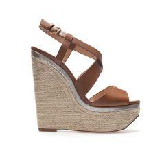 CUÑA YUTE - Zapatos - TRF | ZARA República Dominicana