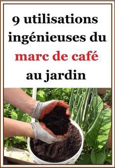 Très utile dans toute la maison et pour concocter des produits de beauté, le marc de café s'invite également au jardin ! Garden Trellis, Balcony Garden, Herb Garden, Vegetable Garden, Rhymes With You, Garden Online, Garden Coffee, Pretty Green, Plantar