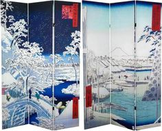 High Quality Mt Fuji Room Divider