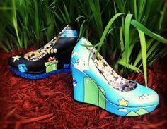 Mario Bros shoes.