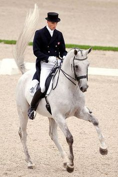 Andreas Helgstrand & Blue Hors Matinee for Denmark.  She was such a lovely mare!  Gone too soon.