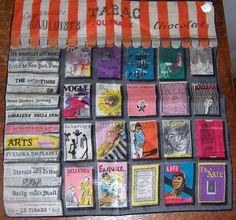 Ladies Vintage Stoffels Hankie Handkerchief News Stand Magazine   eBay