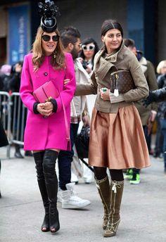 Read more: Street Style Fall 2012 - New York Fashion Week Street Style - Harper's BAZAAR