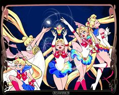 I just can't stop drawing Sailor Moon