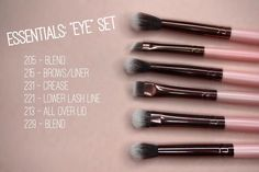 I have 3 Luxie brushes already, they are so soft and work really well. Sooo I really want to try this set!!