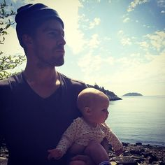 It was take the Babes to Work Day again. Beauty photo by @ Emily Bett :) -Stephen and Mavi