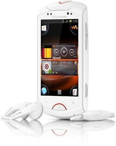 Live with Sony Ericsson Walkman smartphone for music lovers