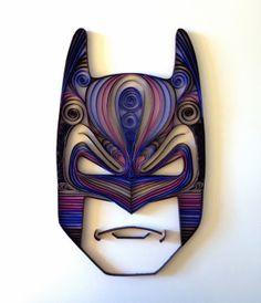 Batman - As esculturas nerds feitas de papel
