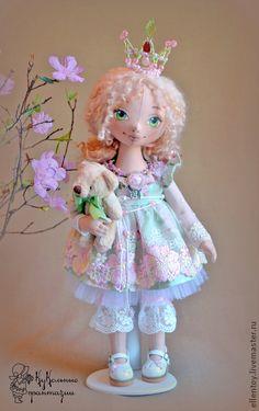Коллекционные куклы ручной работы. Ярмарка Мастеров - ручная работа Принцесса Primavera. Handmade.