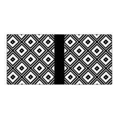 Black and White Squares Vinyl Binders