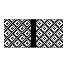 Black and White Squares Vinyl Binders