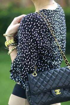 small polka dots & chanel