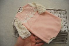 Newborn romper for photography shoots pink baby girl photo   Etsy