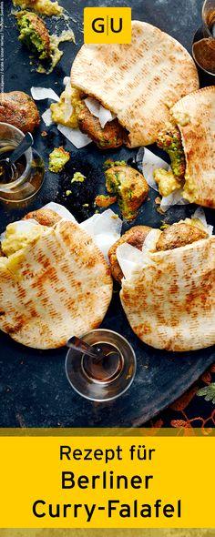 """Schnelles Rezept für Berliner Curry-Falafel aus dem Buch """"Cook mal türkisch"""". ?GU"""