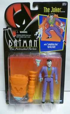 1992 Kenner Batman Animated Series - The Joker Action Figure MOC Rare DC Comics #Kenner
