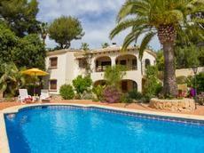 Location De Cette Villa à Moraira Avec Piscine. Pour Vos Vacances En  Famille Ou Entre