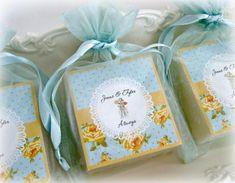 Shabby Chic Favors mason jar favors tea party favors by AbbeyJames, $40.00