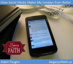How Social Media Makes My Sundays Even Better