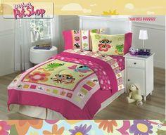 Littlest Pet Shop NATURE BUDDIES Standard Pillowcase . $3.99