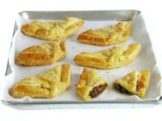 Chocolate and cheese Danishes. The sound so good!!