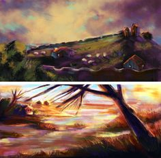 New concepts.  I love to put colors on my black&white layer :3 #beginner #concept #conceptartist #conceptart #environment #design #paintanyway #learning #study #wanttobeconceptartist #art #digitalart #digitalart #digitalpainting #natureart #nature #sketching #speedpaint #doodling #imagination #imaginationarts #myworld #colorful #somethingnew #sesjaiscoming #nofilter #photooftheday by ptyyss