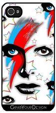 Coque Pour Iphone 5/5S - Les Yeux De Bowie 530 - BluedarkArt