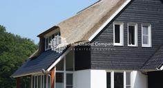 Landelijke woning  #rieten dak #hout #keimwerk #Dalfsen #gebinten #metselwerk #houten gevel