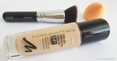 Mimi Sunshine Blog: Auf der Suche nach der perfekten Foundation: Manhattan Endless Perfection Make-up 24h