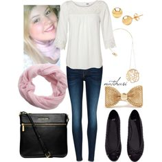 """""""Cute School Outfit"""" by natihasi on Polyvore"""