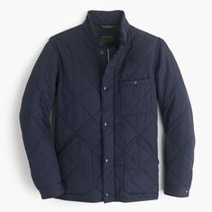 Sussex quilted jacket | J.Crew