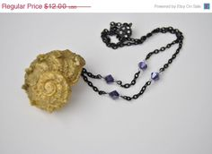 20 OFF SALE Ursula Halloween Costume Necklace  by LiebchenJewelry, $9.60