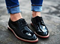 yes to oxford shoes Noora Style, Brogues, Loafers, Derby, Nike Wedges, Oxford Shoes Outfit, Kobe Shoes, Melissa Shoes, Fashion Mode