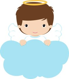 4shared - Ver todas las imágenes de la carpeta ANGELS-BOYS-grafosclipart Baptism Centerpieces, Baptism Decorations, Baby Shower Decorations, Balloon Decorations, Angel Clipart, Angel Theme, Première Communion, Angel Drawing, Christening Invitations