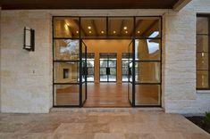 Contemporary Iron Door Designs - Presidio Doors