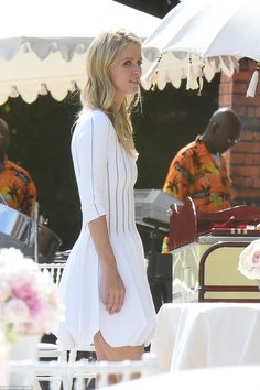 Newlywed: Nicky Hilton looks surprisingly fresh the next day after the wedding party celeb...