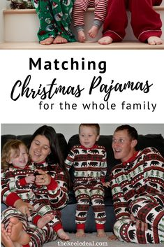 Matching Christmas Pajamas for the whole family this holiday season. Fun pajamas you can get on Amazon. Family Christmas, Christmas Photos, Christmas Sweaters, Christmas Crafts, Christmas Decorations, Christmas Eve Traditions, Matching Christmas Pajamas, Best Pajamas, Seasons