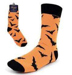 Life Is Too Short To Wear Boring Socks! Mens Novelty Socks, Halloween Socks, Starred Up, Black Bat, Crew Socks, Pairs, Brand New, How To Wear, Cotton