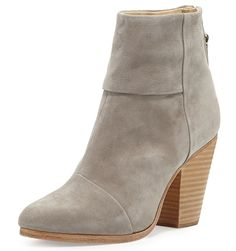 Rag and Bone Newbury Suede Booties