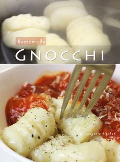 Potato Gnocchi Pasta - 3-Ingredient Recipe - Eugenie Kitchen