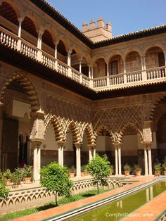 SEVILLA: Alcázar de Sevilla, Patio del Yeso