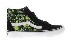 65a020d0e67779 Vans Sk8-Hi Supreme Skull Pile (Green)