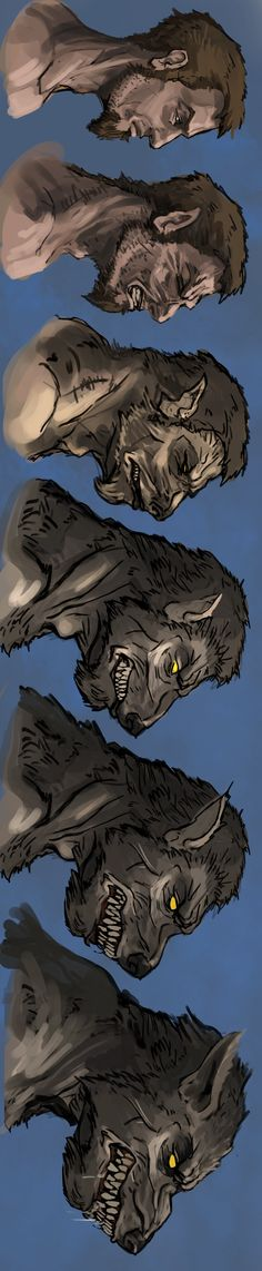 Ideas For Tattoo Wolf Wolves Werewolves Mythological Creatures, Mythical Creatures, Myths & Monsters, Werewolf Art, Vampires And Werewolves, Creature Design, Dark Fantasy, Fantasy Characters, Character Art