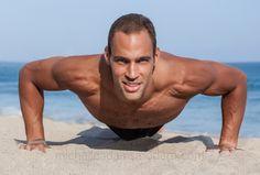 Ben Hawkins by MichelleAdamsModern.com  #male #model #beach