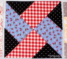 Back to School with Pam Kitty: Row 5 - Fat Quarter Shop's Jolly Jabber