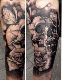 Tatuagens de Caveiras para você se inspirar | Tinta na Pele