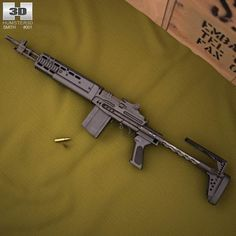 Mk 14 Enhanced Battle Rifle 3d model from humster3d.com. Price: $50